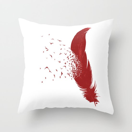 Birds of A Feather (Society6 Edition) Throw Pillow