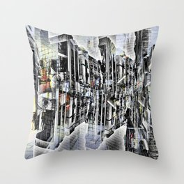 Tuesday 8 October 2013: Particularly emphasized segmentation and cohesion. Throw Pillow