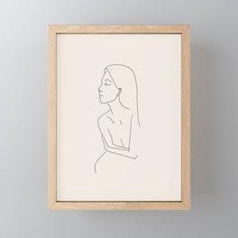 sûr de soi Framed Mini Art Print
