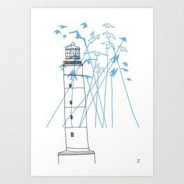 Phare Art Print
