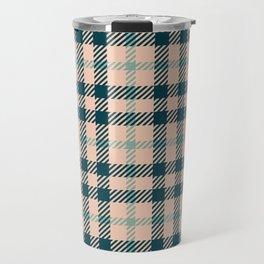 Tartan Pattern No1 Travel Mug