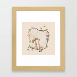 Reach me Framed Art Print