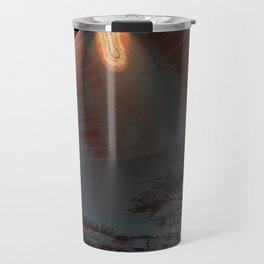 Glinting Fiery Tendrils Travel Mug