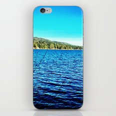 Blue sky, blue water. iPhone & iPod Skin