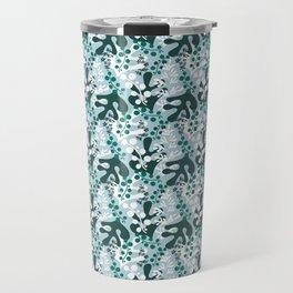 green Coral reef pattern Sango Travel Mug