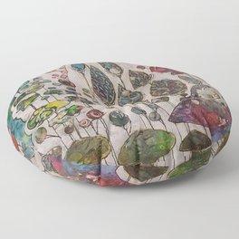 Behind the Veil Floor Pillow