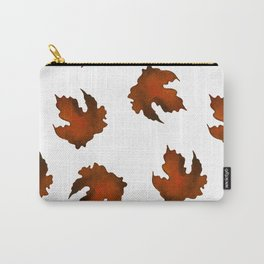 Brown dried leaves Carry-All Pouch