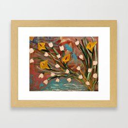 Lilly of the Valley Framed Art Print