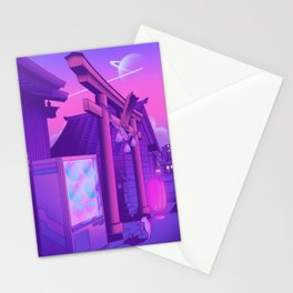 Midnight Matsuri Stationery Cards