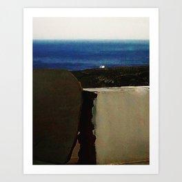 Tinos island Art Print