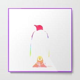 love penguin1 Metal Print
