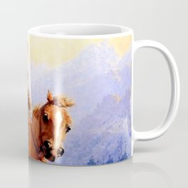 "William Leigh Western Art ""Looking For Strays"" Coffee Mug"