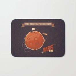 Mars colonization project Bath Mat