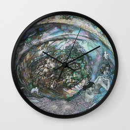 Mikhail Vrubel - Zhemchuzhina Pearl Oyster Wall Clock