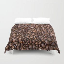 Coffee Duvet Cover