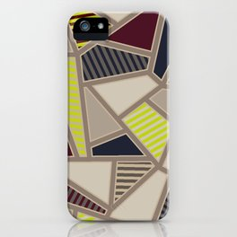 TRIANGLE TRIBES iPhone Case
