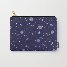You're Outta this World in Purple Carry-All Pouch