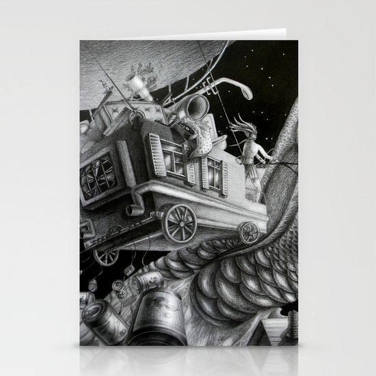 Fish of destiny Stationery Cards