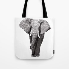 African Elephant 2 Tote Bag