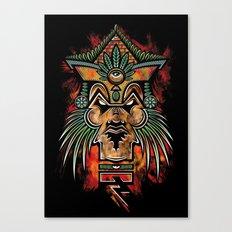 Quetzalcoatl Canvas Print