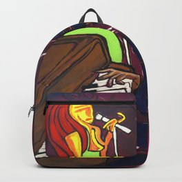 Gumbo night 18 Backpack