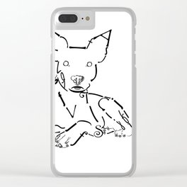 Snoopy II Clear iPhone Case