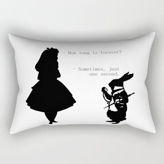 How long is forever? Rectangular Pillow