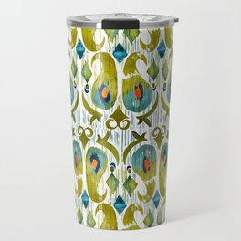 indian cucumbers balinese ikat print mini Travel Mug