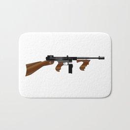 Tommy Gun Bath Mat