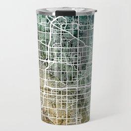Omaha Nebraska City Map Travel Mug