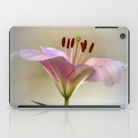 lily iPad Cases featuring Lily by Brian Raggatt