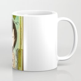 """""""Ghost figures of past, present, future haunting the heart"""" Coffee Mug"""