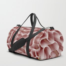 Fractal Art - Rose Duffle Bag