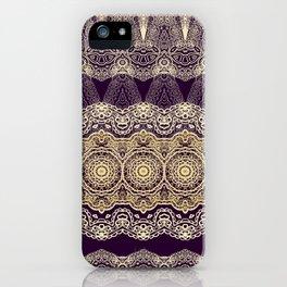 Oriental lace ornament iPhone Case