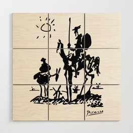Pablo Picasso Don Quixote 1955 Artwork Shirt, Reproduction Wood Wall Art