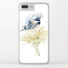 Chickadee Clear iPhone Case