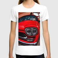 truck T-shirts featuring Vintage Truck by Mark Alder