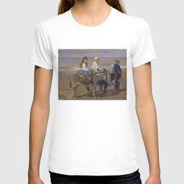 Boy and Girl Riding Donkeys - Isaac Israëls T-shirt