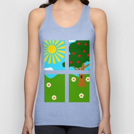 Out The Window Unisex Tank Top