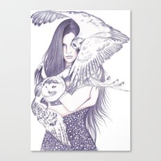 Winteress Canvas Print
