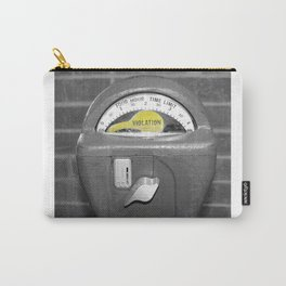 Parking Meter photography art Carry-All Pouch