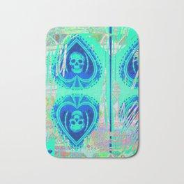 Tracy Porter / Roxy Attic: Blue Spades Bath Mat