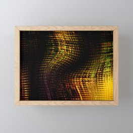 Concept abstract : Sitting down Framed Mini Art Print