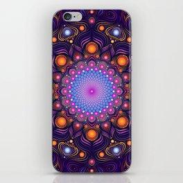 """Guardian"" Mandala painting iPhone Skin"