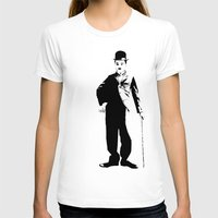 chaplin T-shirts featuring Chaplin by Vee Ladwa
