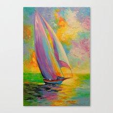 A fresh breeze Canvas Print