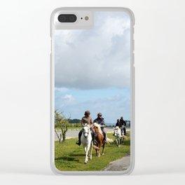 Le Mont Saint Michel 7 Clear iPhone Case