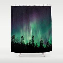 Aurora Borealis (Heavenly Northern Lights) Shower Curtain