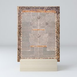 Aaron Wolf Herlingen - The Five Scrolls Ruth, Song of Songs, Ecclesiastes, Esther, and Lamentations Mini Art Print