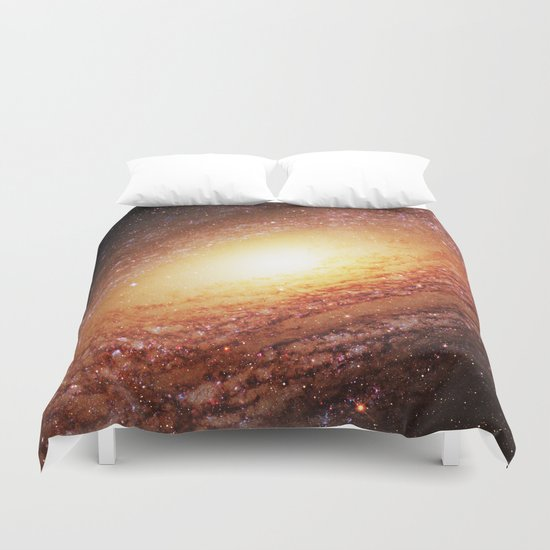 Spiral Galaxy Duvet Cover